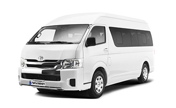 Toyota Hiace With no traffic limitations of Covid-19